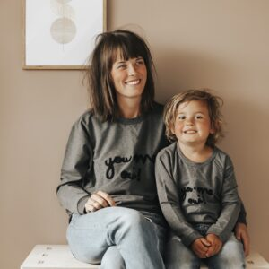mommy and my women sweatshirt sweater match